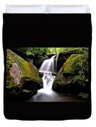 Grotto Falls Duvet Cover by Frozen in Time Fine Art Photography