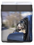 Happy Dog Duvet Cover