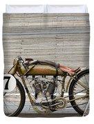 Harley-davidson Board Track Racer Duvet Cover