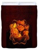 Holiday Citrus Bowl 2011 Duvet Cover