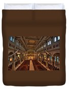 Holy Cross Catholic Church Duvet Cover