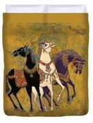 3 Horses Duvet Cover