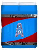 Houston Oilers Duvet Cover