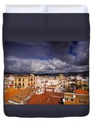 Ibiza Town Duvet Cover