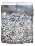 Ice Storm Alfalfa Duvet Cover
