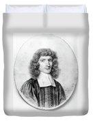 Isaac Barrow (1630-1677) Duvet Cover
