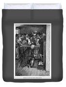Jonathan Wild (c1682-1725) Duvet Cover