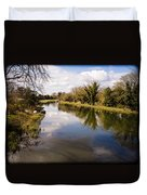 Kennet And Avon Canal Duvet Cover