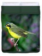 Kentucky Warbler Duvet Cover