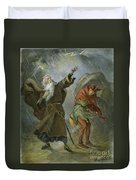 King Lear, 19th Century Duvet Cover