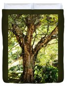 Kingdom Of The Trees. Peradeniya Botanical Garden. Sri Lanka Duvet Cover