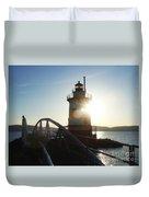 Kingsland Point Lighthouse Duvet Cover