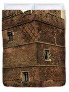 Kirby Muxloe Castle  Duvet Cover