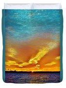 3 Layer Sunset Duvet Cover