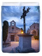 Les Baux Iron Cross Duvet Cover