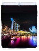 Marina  Bay Sands - Singapore Duvet Cover