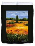 Mediterranean Landscape Duvet Cover