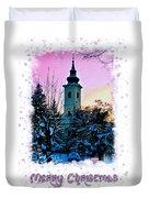 Christmas Card 22 Duvet Cover