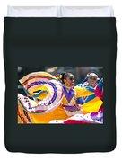 Mexican Folk Dancers Duvet Cover