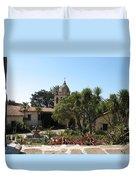 Mission San Carlos Borromeo Del Rio Carmelo Duvet Cover