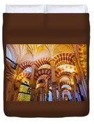 Mosque-cathedral In Cordoba Duvet Cover