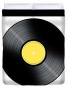 Music Record Duvet Cover