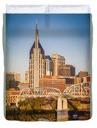 Nashville Morning Duvet Cover