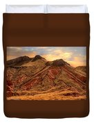 Navajo Nation Series Along 87 And 15 Duvet Cover