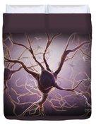 Neuron Duvet Cover