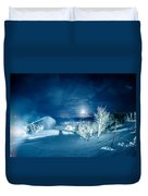 North Carolina Sugar Mountain Ski Resort Winter 2014 Duvet Cover