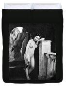 Nude Posing, C1850 Duvet Cover