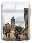Nurnberg Germany Castle Duvet Cover