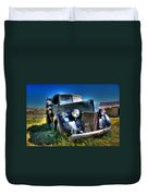 Old Truck At Bodie Duvet Cover
