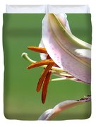 Oriental Lily Named Tiger Edition Duvet Cover