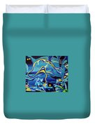 Orpheus And Eurydike Duvet Cover