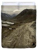 Pamir Highway Duvet Cover