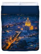 Paris Overhead Duvet Cover