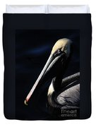 Pelican Profile Duvet Cover