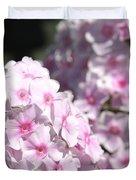 Phlox Paniculata Named Bright Eyes Duvet Cover