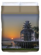Waterfront Park Glowing Duvet Cover