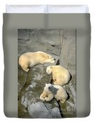 3 Polars Duvet Cover