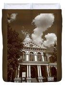 Pontiac Illinois - Courthouse Duvet Cover