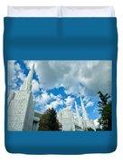 Portland Oregon Lds Temple Duvet Cover