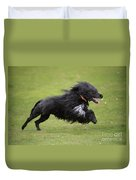 Portuguese Water Dog Duvet Cover