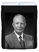 President Dwight Eisenhower - Four Duvet Cover