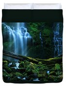 Proxy Falls Oregon Duvet Cover