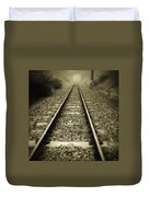 Railway Tracks Duvet Cover
