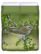 Red-eyed Vireo Duvet Cover