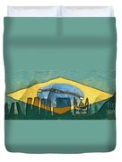 Rio De Janeiro Skyline Duvet Cover