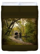 Riverbank Reflections Duvet Cover